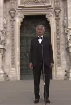 Andrea Bocelli musique de l'espoir