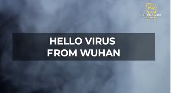 The virus of Wuhan sur un air de Simon and Garfunkel