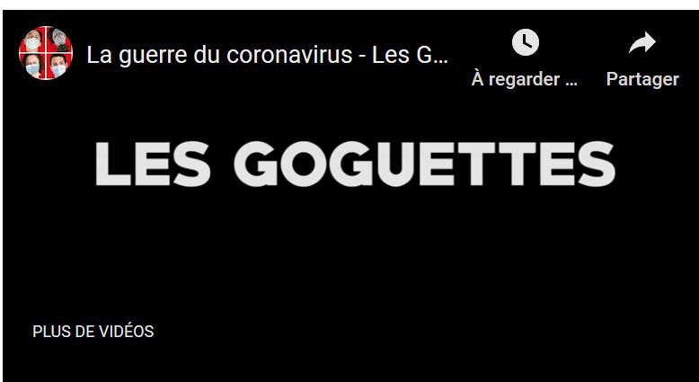 Les Goguettes : la guerre du coronavirus
